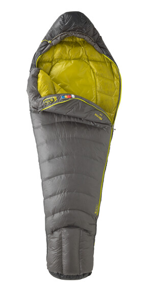 Marmot Quark - Sac de couchage - Regular jaune/gris